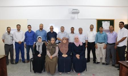 المعهد الوطني للتدريب يختتم دورة كتابة التقارير الإدارية