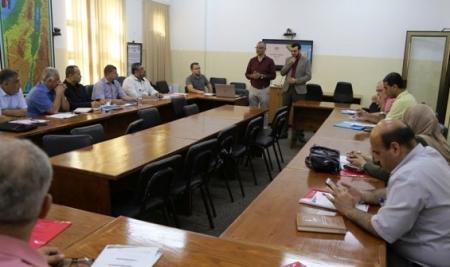 """وزارة التعليم بغزة تعقد دورة"""" تطبيقات التواصل عن بُعد """" لفئة المديرين العامين ومديري التربية"""